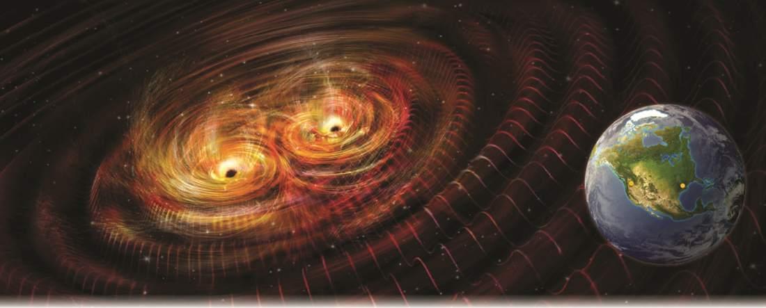 Correlation between gravitational image