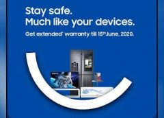 Samsung Extends Warranty on All Products in India Till June 15 Owning to Coronavirus Lockdown !!!