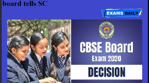CBSE 10th, 12th Exam 2020 Live Updates: CBSE, ICSE 10th, 12th July exams cancelled, board tells SC !!