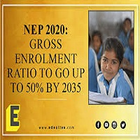 NEP 2020 aims to increase gross enrolment ratio in higher education to 50% by 2035: PM Modi ……