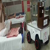 Robots are Serving Food and Medicines to Covid-19 Patients at Odisha's Railways Hospital !!