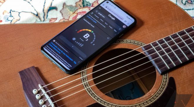 Google adds guitar tunes to search