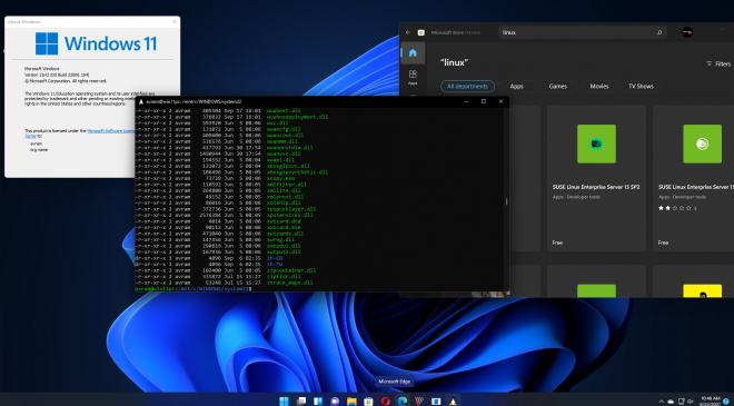 Microsoft turns windows subsystem for Linux into a windows 11 application